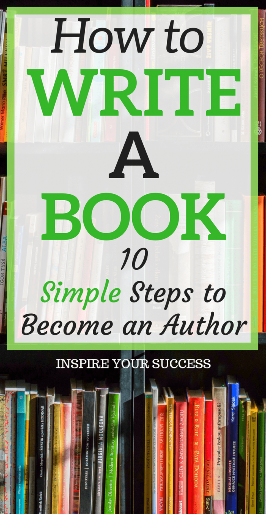 Do you want to write a book but have no clue where to get started? Learn how to become a first-time author in 10 simple steps. This is a great side hustle as well!