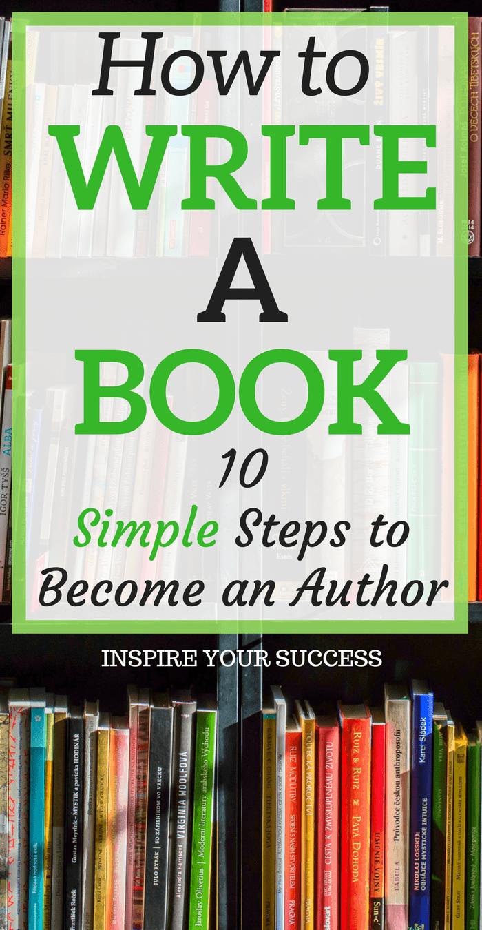 how do you write a good book