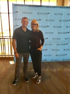 The 5-Second Rule author Mel Robbins.
