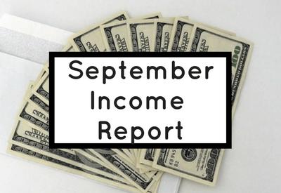 How I Made Over $1,700 in September