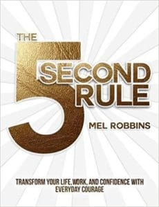 Mel Robbins - 5 Second Rule. This book is filled with amazing Mel Robbins quotes and the 5-second rule can change your life!
