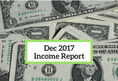 December 2017 Income Report