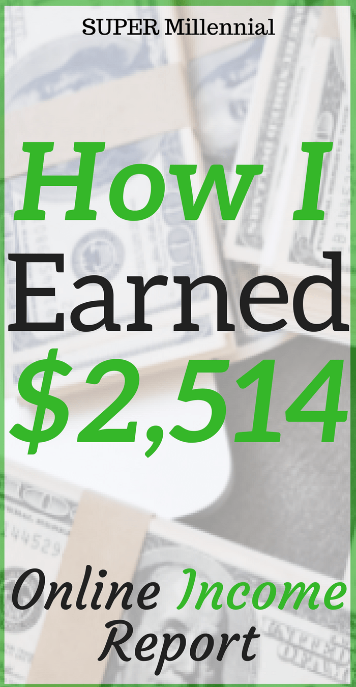 Do you want to earn more money in 2018? Check out how I earned over $2,500 from freelance writing, blogging, and other side hustles.