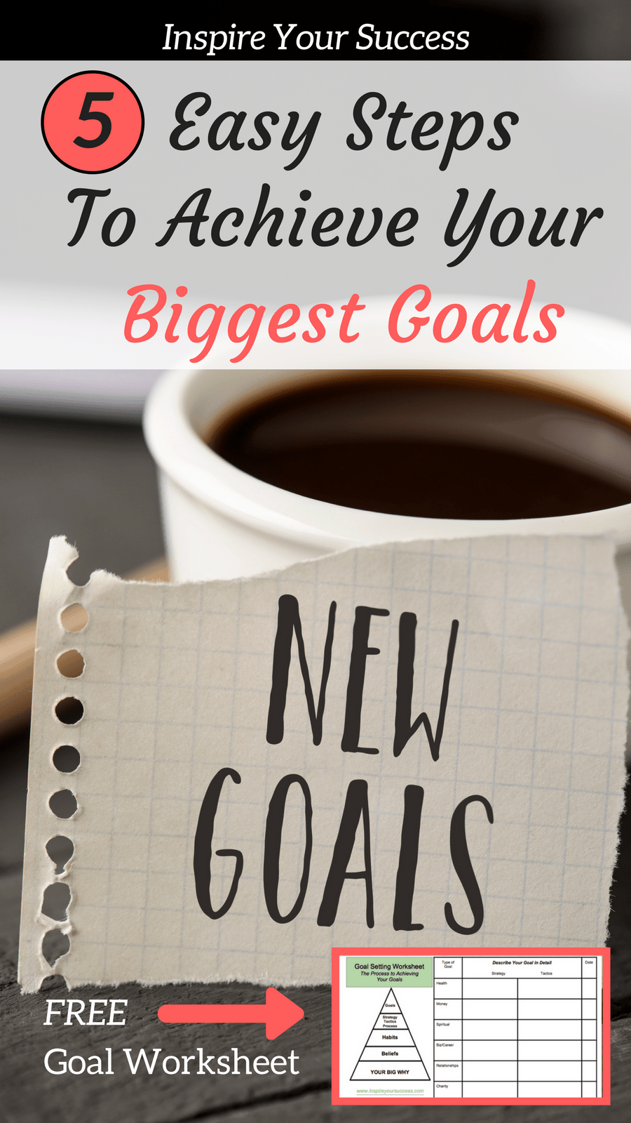This FREE goal setting worksheet printable has helped me so much! I feel like I can accomplish my fitness goals, personal goals, business goals easily!