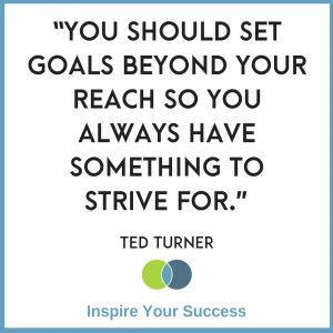 Goal setting quotes (Ted Turner)