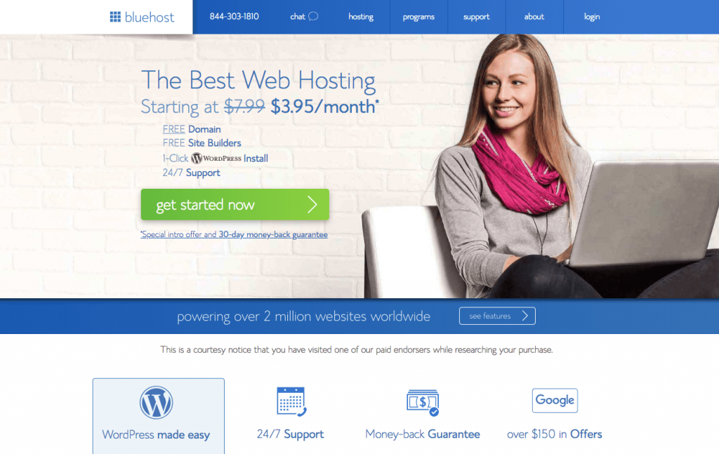 Bluehost Start a Blog Tutorial