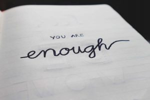 Remember you are enough! Read your goals twice per day to learn how to get motivated