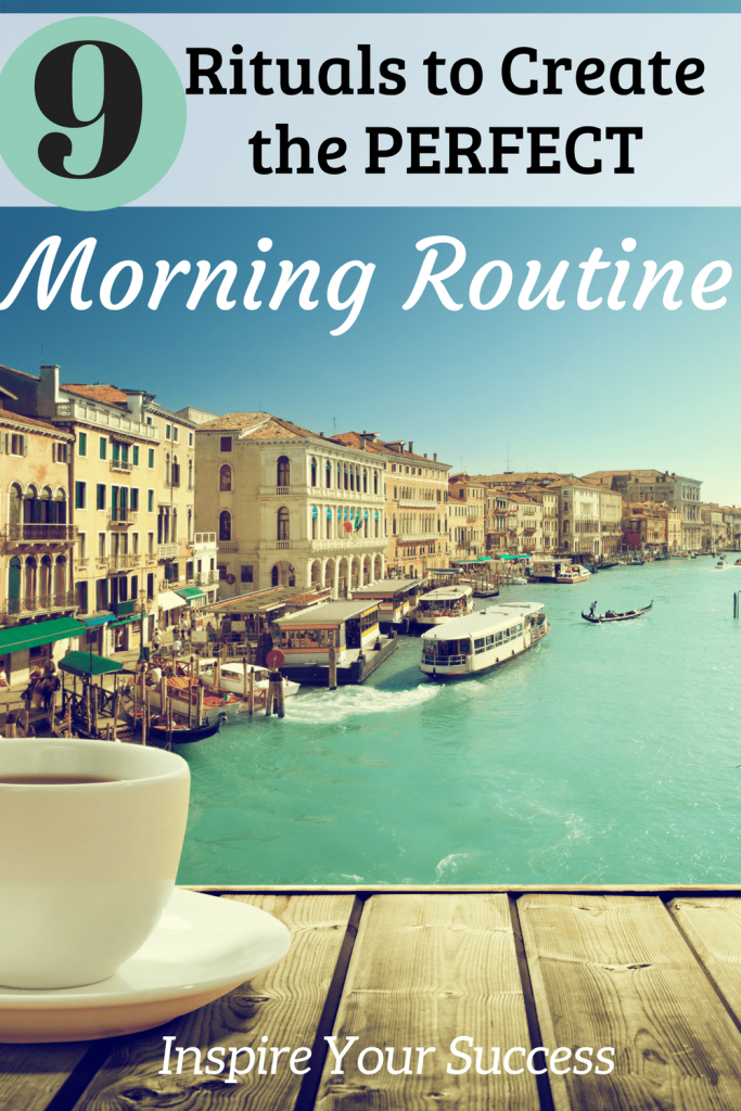 This is the best post I've read on morning routines. I finally have a plan with these 9 morning rituals to start my day off empowered, strong, and positive.
