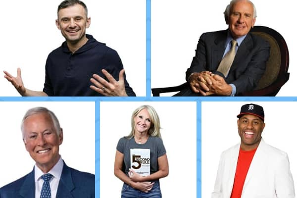 Best Motivational Speakers (Gary Vee, Jim Rohn, Brian Tracy, Mel Robbins, Eric Thomas)
