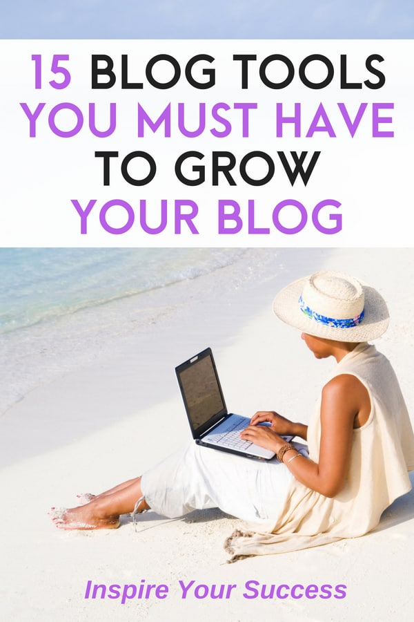 Check out the best blogging tools to grow your blog and save you time. These products have helped me save time and grow my blog traffic!