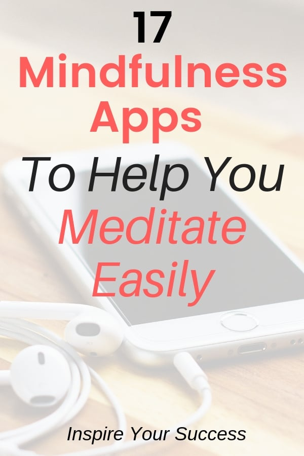 These mindfulness apps have changed my life. They make it easy to meditate, stay calm, and mindful throughout the day. #morningroutine #mindfulness #meditation #mindful