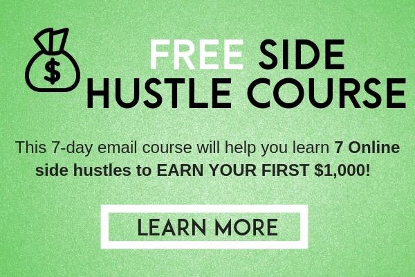 Side hustle course to make money online