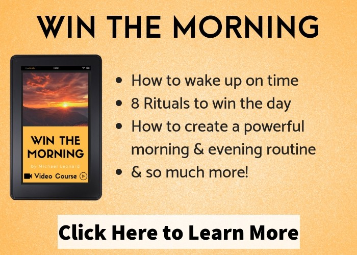 Win The Morning (Morning Rituals Course)