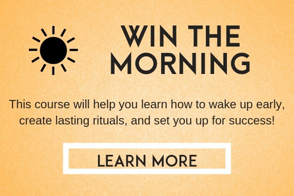 win the morning course (morning rituals)