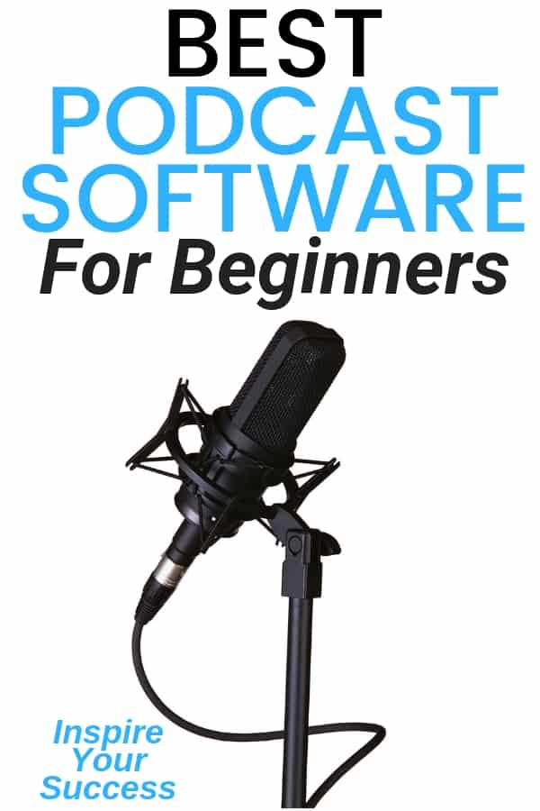 Want to know the best podcast software to get started podcasting? These tools makes it simple and easy to launch your podcast! #podcast #podcasting #podcastshow