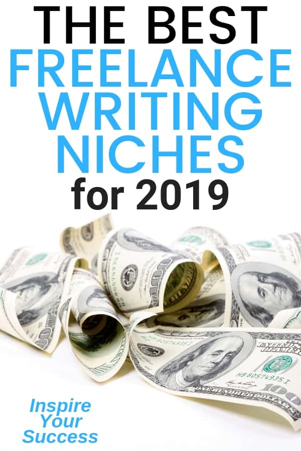 How to choose the best freelance writing niches and make money writing! Plus, 7 extra strategies to increase your writing income #freelancewriting #writer #makemoneywriting