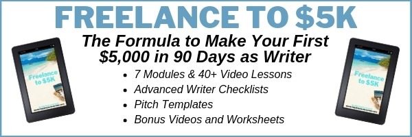 Freelance to 5K - Freelance Writing Course