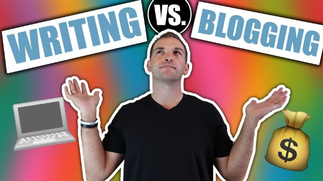 Writing vs. Blogging