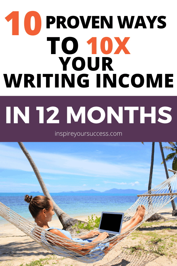 10 proven ways to earn more writing income in less time