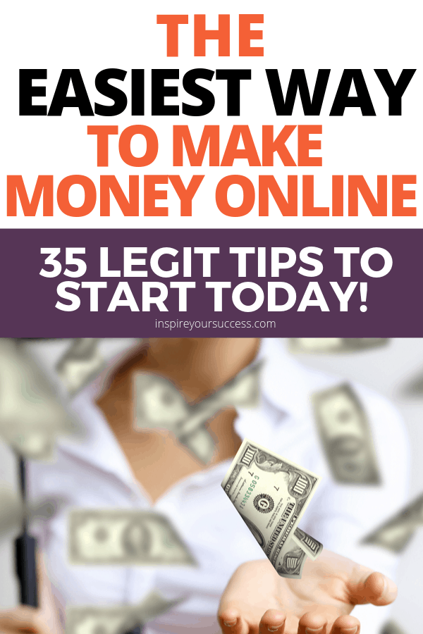 35 tips to make money online