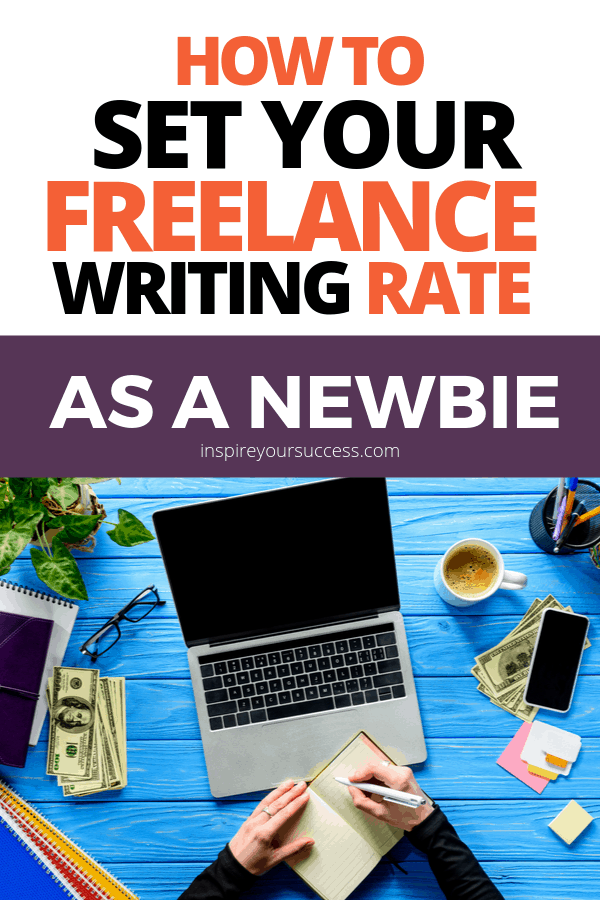 how to set your freelance writing rate