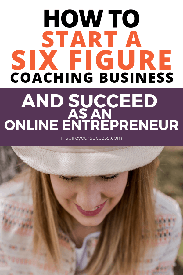 start 6 figure business succeed as online entrepreneur