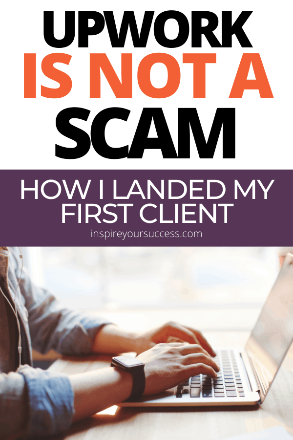 upwork is not a scam