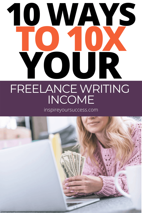 increase your freelance writing income