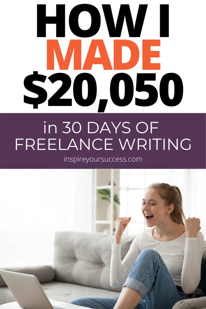 to make money freelance writing