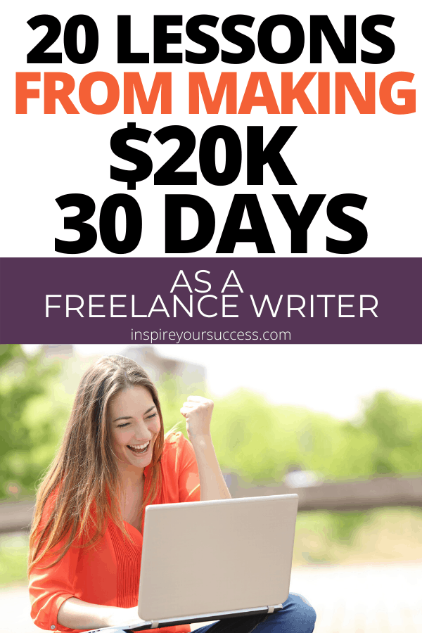 how to make good money as a freelance writer