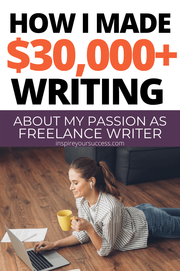 write about your passion and make money