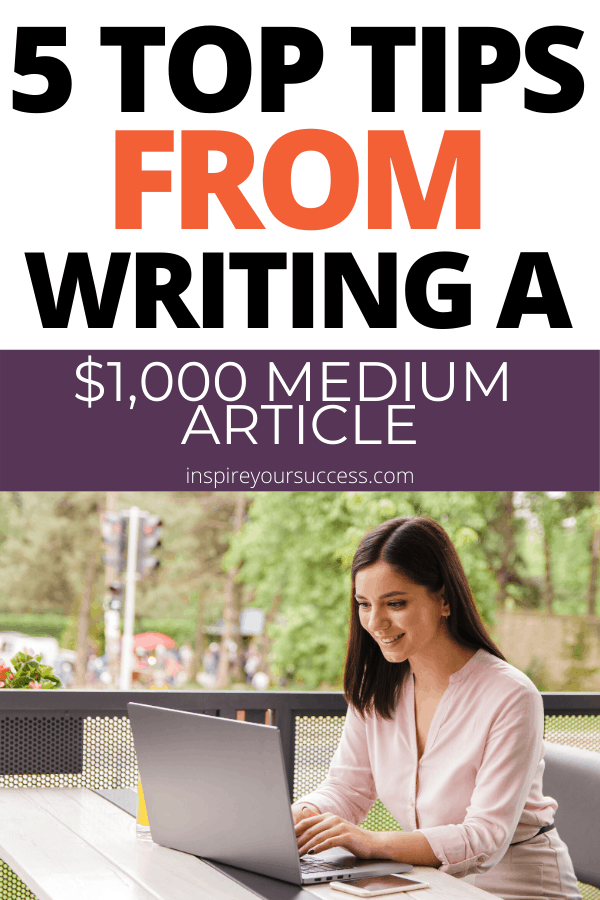 how to write a top earning medium article